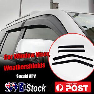 Weather Shields Weathershields Cars Window Visors Anti Rain For Suzuki APV VAN