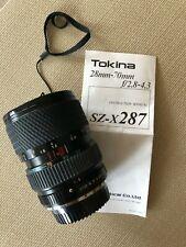 Tokina SZ-X 287 28~70mm F2.8~4.3 For Pentax Camera Lens