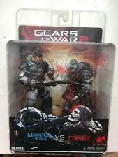 OVP NECA Gears of War 2 Serie 2 Pack Marcus Fenix & Locust Drone Figur Set