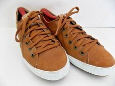 HH Helly-Hansen Men's Brown Suede Leather Sneakers Size 8 US