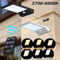 48 LED Security Solar Spot Light Motion Sensor Waterproof Lamp Outdoor Garden