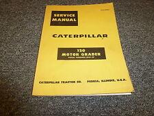 Caterpillar CAT 120 Motor Grader Blade Maintainer Shop Service Repair Manual 89G