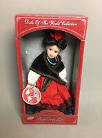 Barbara Lee's SPAIN Petite Porcelains Doll Limited Edition Signed & Numbered NIB