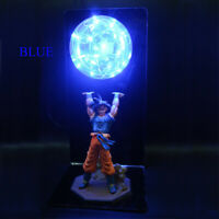 Dragon Ball Z Action Figures Goku Son Figurine Collectible Anime LED Lamp Toys
