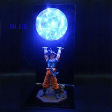 Dragon Ball Z Action Figures Goku Son Figurine Collectible Anime LED Lamp Toys