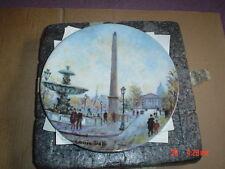 Limoges Collectors Plate LA PLACE DE LA CONCORDE