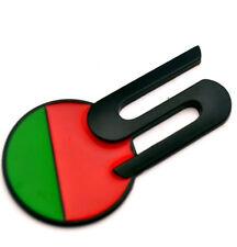 (1) Black S Sport Emblem for XJ XK XJR XJS XF F-TYPE Car Boot Fender Badge