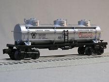 LIONEL PENNSYLVANIA SALT TANKER CAR O GAUGE train philadelphia pa 6-83984 T NEW