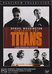 REMEMBER THE TITANS PLATINUM COLLECTION DVD