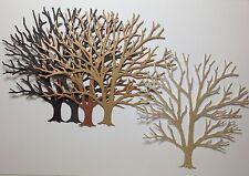 New - Dreamweaver Large Bare Tree Die Cuts - Brown Mix
