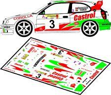 DECALS 1/43 TOYOTA COROLLA WRC - #3 - GRYCZYNSKI - RALLYE ELMOT 1999 - D43070