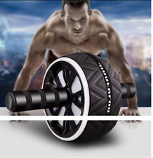 Abs Wheel Exercise Gym Roller Fitness Abdominal Core Muscle Trainer Ab Roller