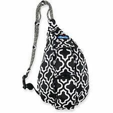 KAVU Mini Rope Sling Bag Polyester Crossbody Backpack Rhombus Rug Moroccan