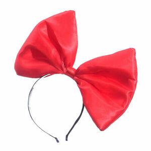 Novelty Big Bow Headband Red Bow Head Band Women Girls