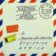 """7"""" AUSTRIA FÜR AFRIKA Warum? WOLFGANG AMBROS ANDRE HELLER DÖF MINISEX STS OPUS"""