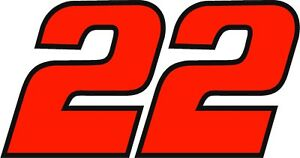 NEW FOR 2020 #22 Joey Logano Racing Sticker Decal - Sm thru XL - Various colors