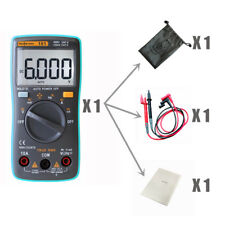 RM101 Digital Multimeter 6000 counts AC/DC Ammeter Voltmeter Ohm voltage