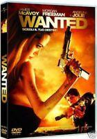 Wanted Scegli il tuo destino  DVD Nuovo Sigillato Angelina Jolie