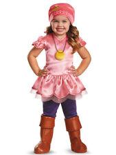 New Disney Junior Captain Jake Izzy Deluxe Toddler Costume Medium 3T-4T