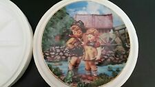 Hummel Collector Plate Danbury Mint Hello Down There Certificate Limited Edition