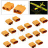 10Pairs XT-60 XT60 Male Female Gold Plated Bullet RC Lipo Power Plugs Connectors