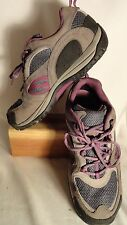Merrell Castle Rock Purple, Select Dry/Grip Hiking Shoes, Womens 8.5/39