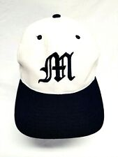 Tigers Baseball Cap Hat Adjustable Leather Strap Michigan Mobile Memphis M Logo
