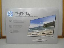 HP 27Q 27 inches LED Computer Display Monitor 2K Quad HD 2ms Response NIOB B