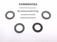 DAIWA REEL PART Sealine SL175H - (4) Smooth Drag Carbontex Drag Washers #SDD112