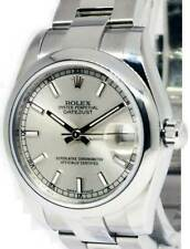 Rolex Datejust Steel Silver Dial Ladies Midsize 31mm Automatic Watch 178240