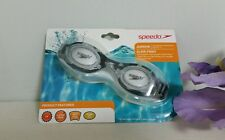 Speedo Kids Glide Goggles Brand New Factory Sealed~Ages 6-14 / CARBON W SPARKS