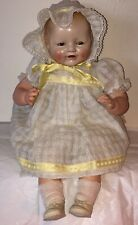 Antique Beautiful Baby Dimples Doll Horsman Eih Co. 19�