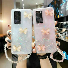Bling Butterfly Strap Case Cover Fr Samsung Galaxy S20 Note 20 Ultra Note10 Plus