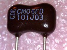 Silver Mica cap : 100PF 500V 5% CM05FD101J03 : 5pcs per lot