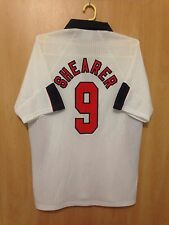 ENGLAND NATIONAL TEAM 1997/1998 HOME FOOTBALL SHIRT JERSEY ALAN SHEARER #9