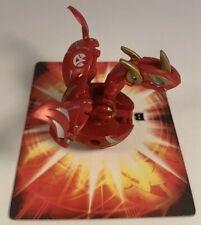 Bakugan Red Gold Pyrus Neo Maxus Dragonoid 650g Battle Brawlers