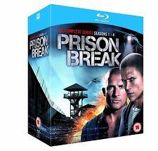 PRISON BREAK COMPLETE SERIES 1 2 3 & 4 + FINAL BREAK BRAND NEW BLURAY BOXSET*