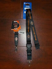 Harley-Davidson Lanyard and Key Chain Combo Plasticolor NEW