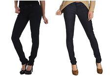 Levis 524 Skinny Jeans Womens Dot Print Pockets Ultra Low Rise Stretch Denim