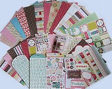 "Echo Park  ""Girly""   Paper & Embellishment Set    Save 70%"