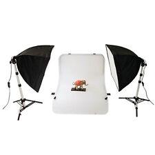 METTLE Studio-Set OREGON Compact-Aufnahmetisch Studiotisch Fototisch Beleuchtung