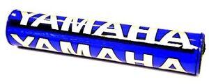 YAMAHA YZ250 YZ 250  MOTOCROSS HANDLEBAR CROSSBAR PAD BLUE / SILVER