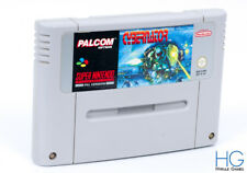 Cybernator - Super Nintendo SNES Retro Game Cartridge PAL