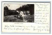 Devasego Falls, Catskill Mountains Prattsville NY, Waterfalls c1905 Postcard K10