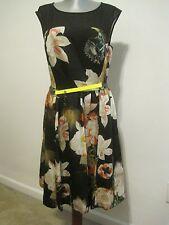 """NWOT TED BAKER LONDON""""CAMEELA  """"opulent bloom  DRESS     2  U.S.6"""