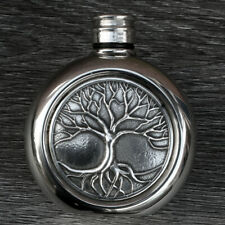 More details for tree of life hip flask.