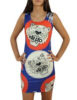 Kenzo Damen Kleid Neu Sexy Party KENZO PARIS Dress Tiger Top Top Gr. S, XL