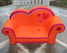 "Lalaloopsy 11"" Orange Couch Sew Magical & Sew Cute Doll Furniture"