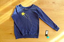 Armedangels Pullover Sweatshirt Gr.M 38 Marla one wish washed blue blau Sterne