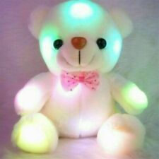 Toys For Girls LED light Stuffed Bear 1 2 3 4 5 6 7 8 9 Year Age Old Kids Gifts